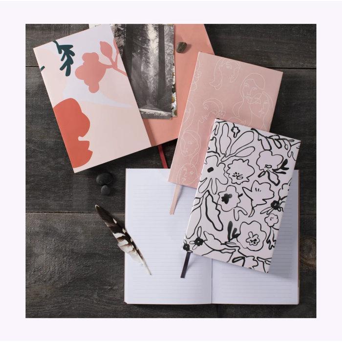 Fringe Messy Flowers Notebook
