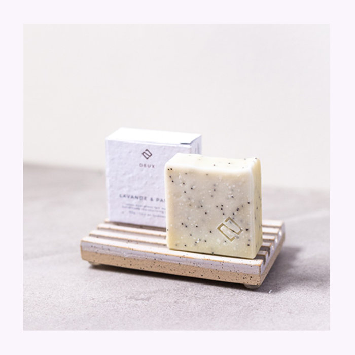 Deux cosmétique Deux Cosmétiques Lavender & Poppy Soap