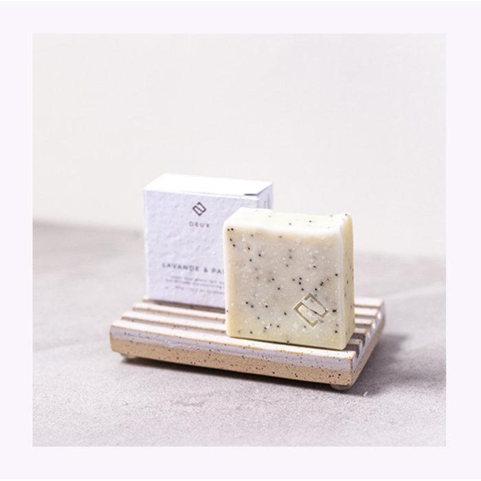 Deux Cosmétiques Lavender & Poppy Soap
