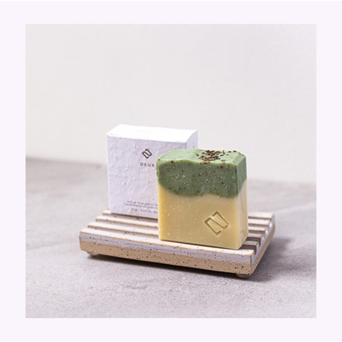 Deux Cosmétiques Rosemary & Shea Butter Soap