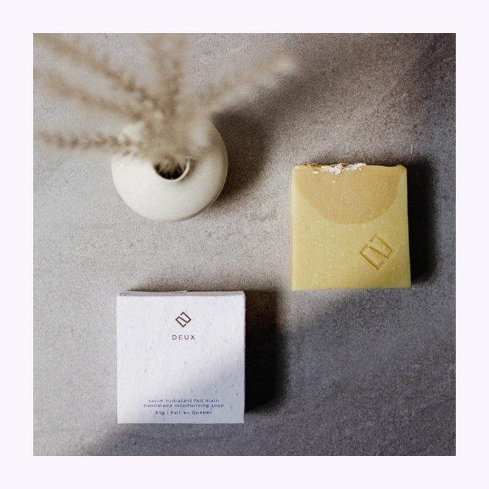 Deux cosmétique Deux Cosmétiques Oatmeal & Vanilla Soap