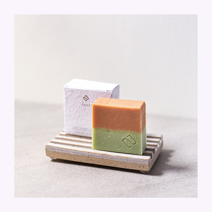 Deux cosmétique Deux Cosmétiques Orange & Cedar Soap