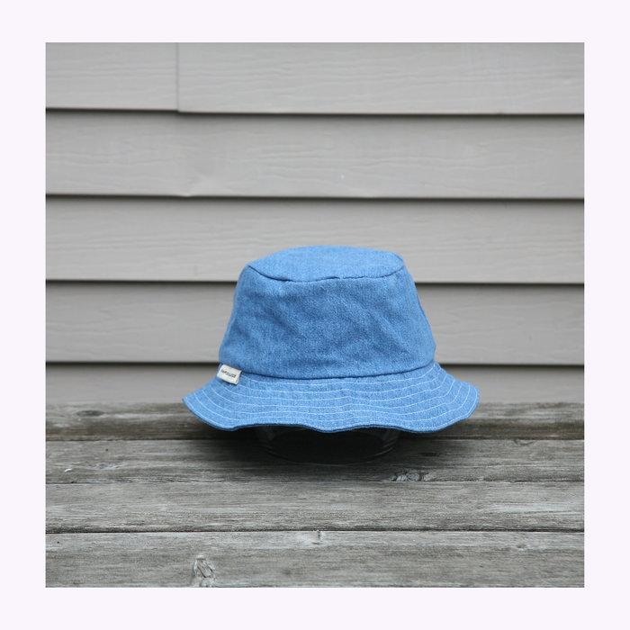 Pamplemousse Pamplemousse Denim Bucket Hat