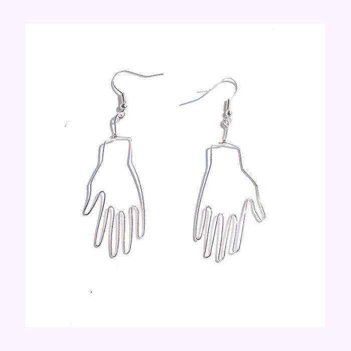 Pamplemousse Pamplemousse Hand Earrings