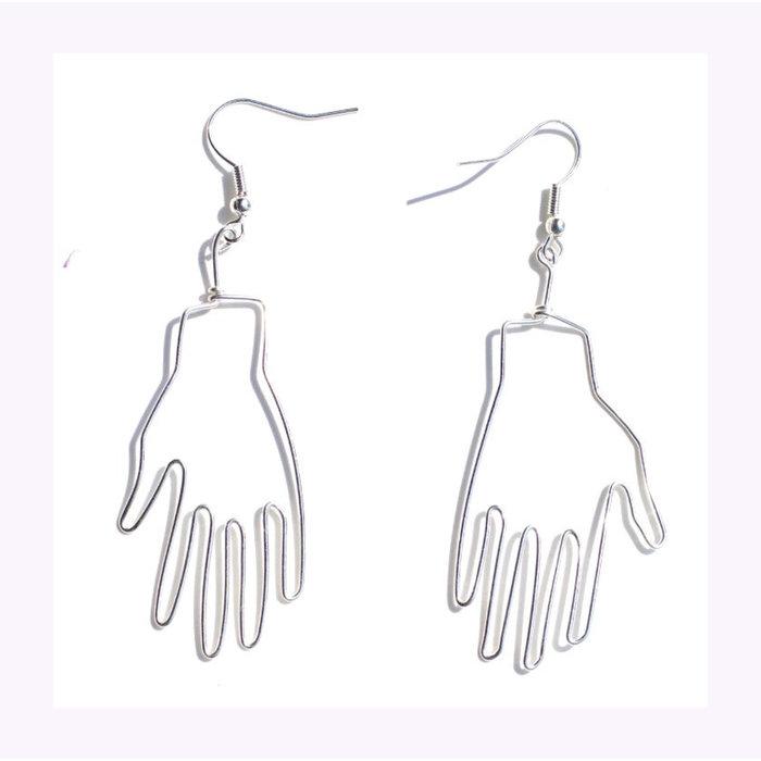Pamplemousse Hand Earrings