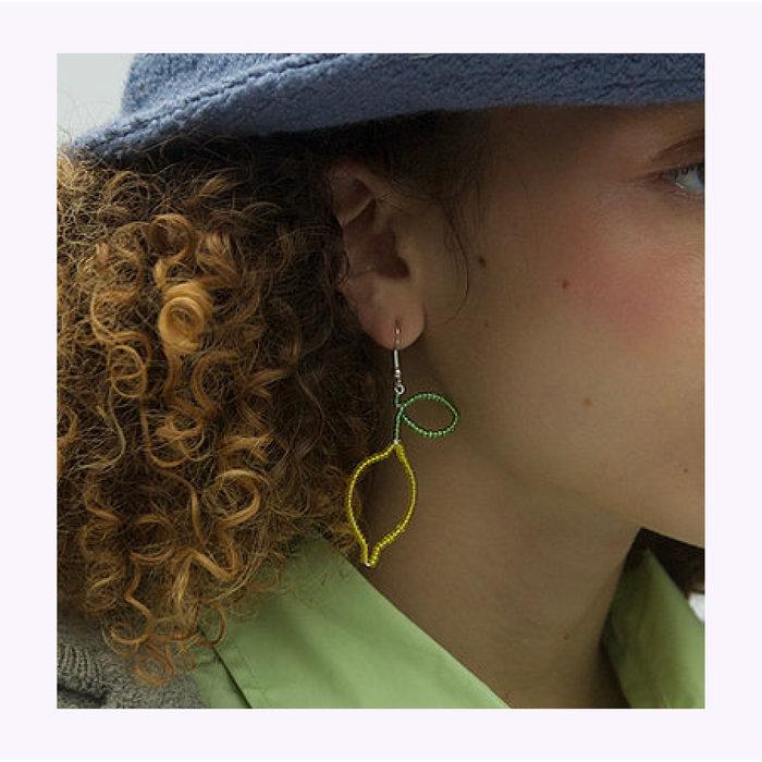 Boucles d'oreilles Citrons de Pamplemousse