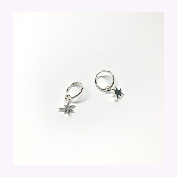 La Manufacture La Manufacture Mini Star Hoops