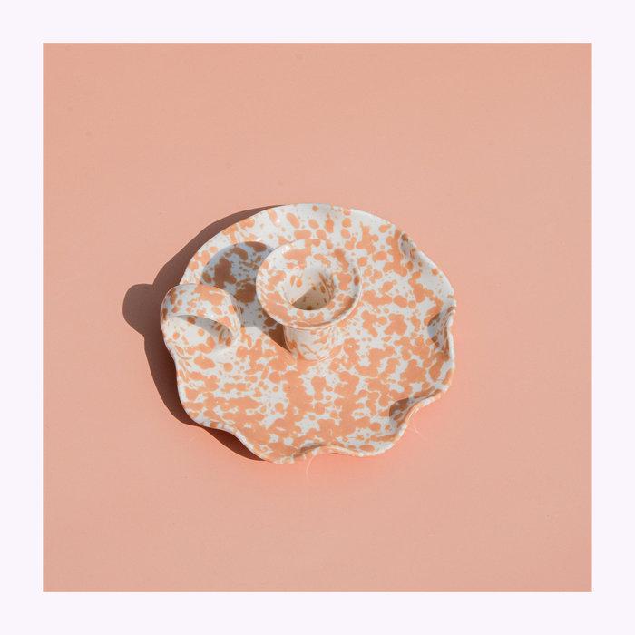 Bougeoir Céramique Floral