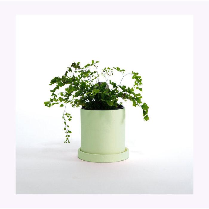 Ceramic Planter With Saucer