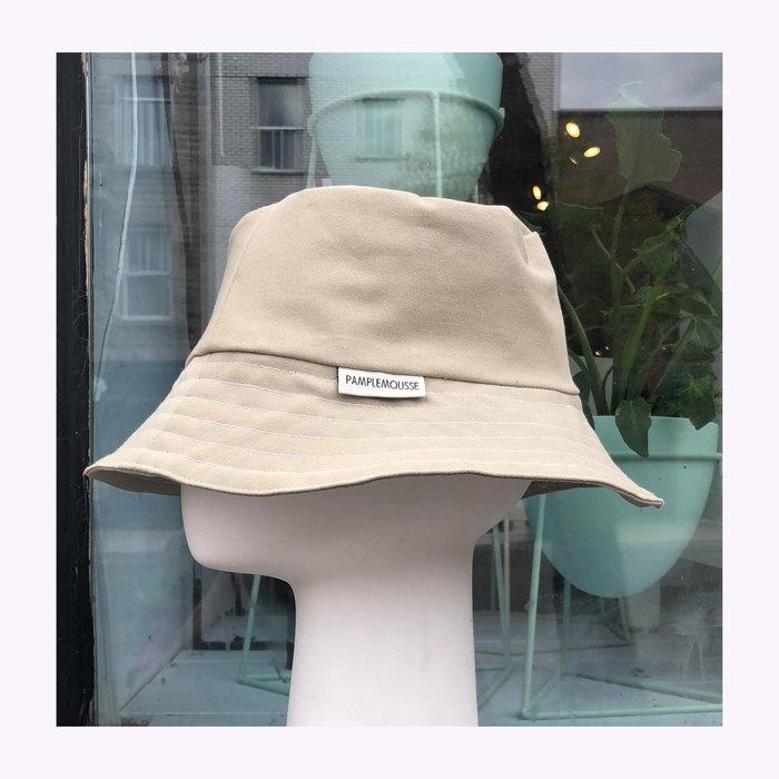 Pamplemousse Pamplemousse Beige Bucket Hat