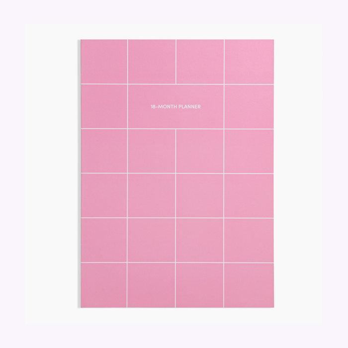 Poketo Poketo Pink 18 Months Planner