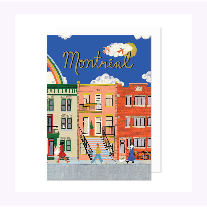 Paperole Montreal Street Card