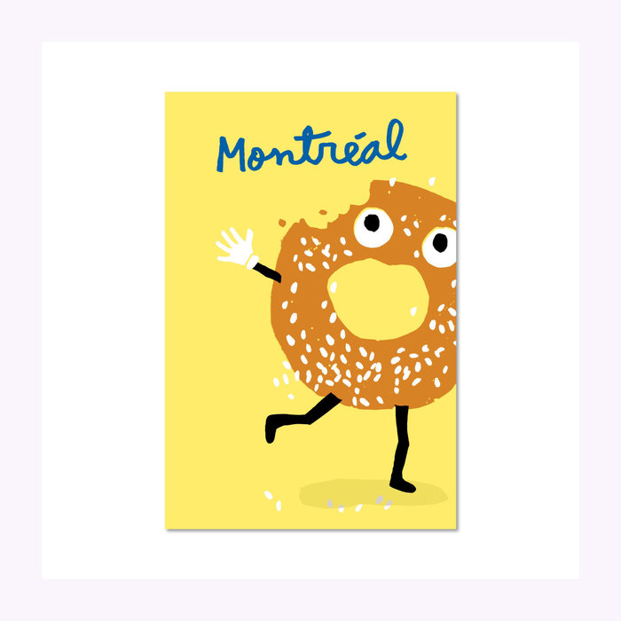 Paperole Paperole Bagel Post Card