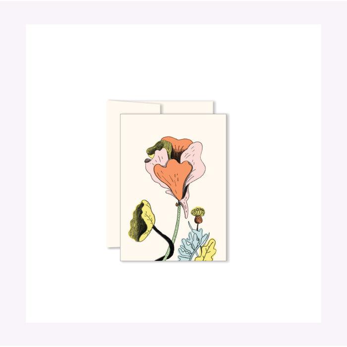 Carte Mini Fleurs Paperole