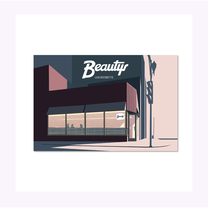 Carte Postale Beauty's Paperole