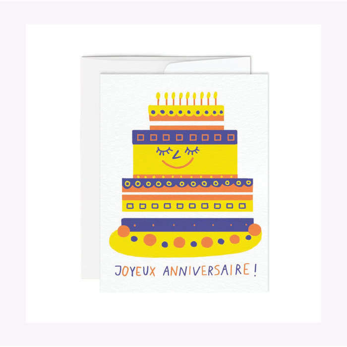 Carte Gâteau Paperole