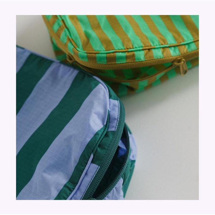 Pochette Cube Baggu Afternoon Stripes L