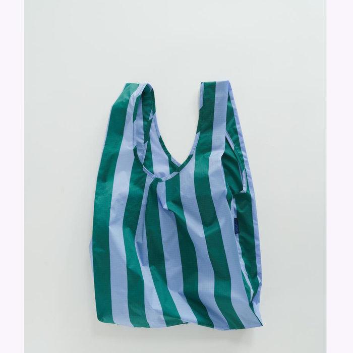 Baggu sac réutilisable Baggu Periwinkle Stripe Reusable Bag