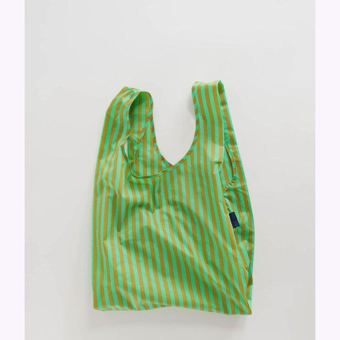 Baggu sac réutilisable Baggu Lawn Stripe Reusable Bag