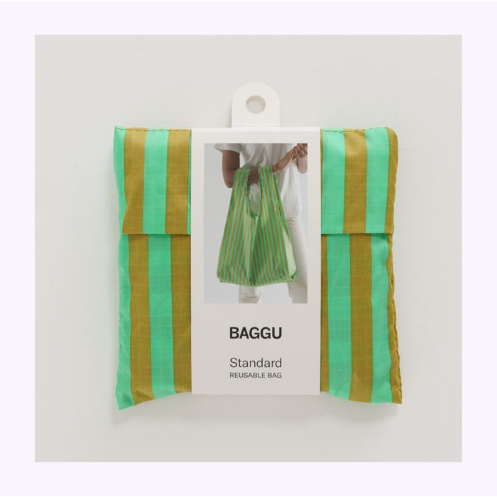 Baggu Lawn Stripe Reusable Bag