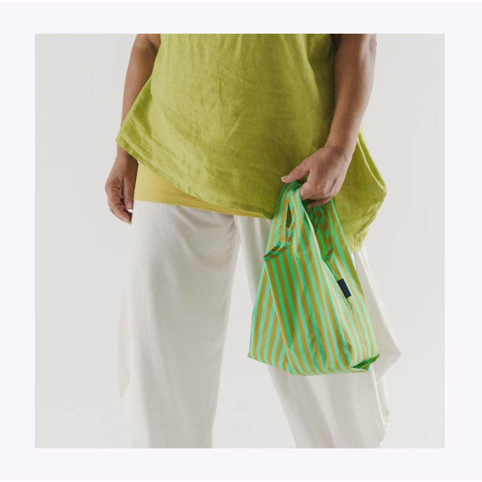 Baby Baggu Lawn Stripe Reusable Bag