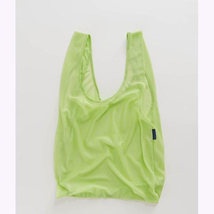 Baggu sac réutilisable Baggu Mesh Limeade Reusable Bag