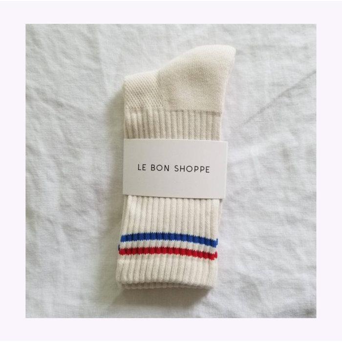 Chaussettes Boyfriend Le Bon Shoppe Milk