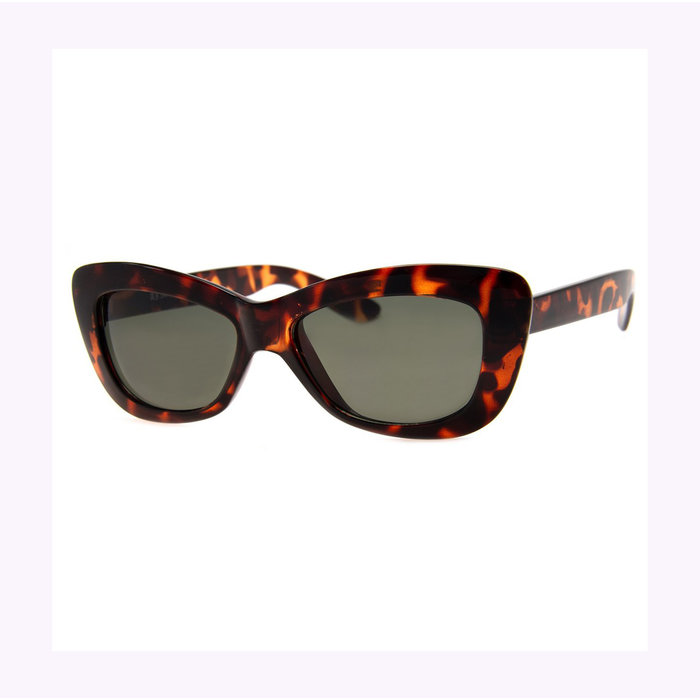 AJ Morgan Tortoise Crushed Sunglasses