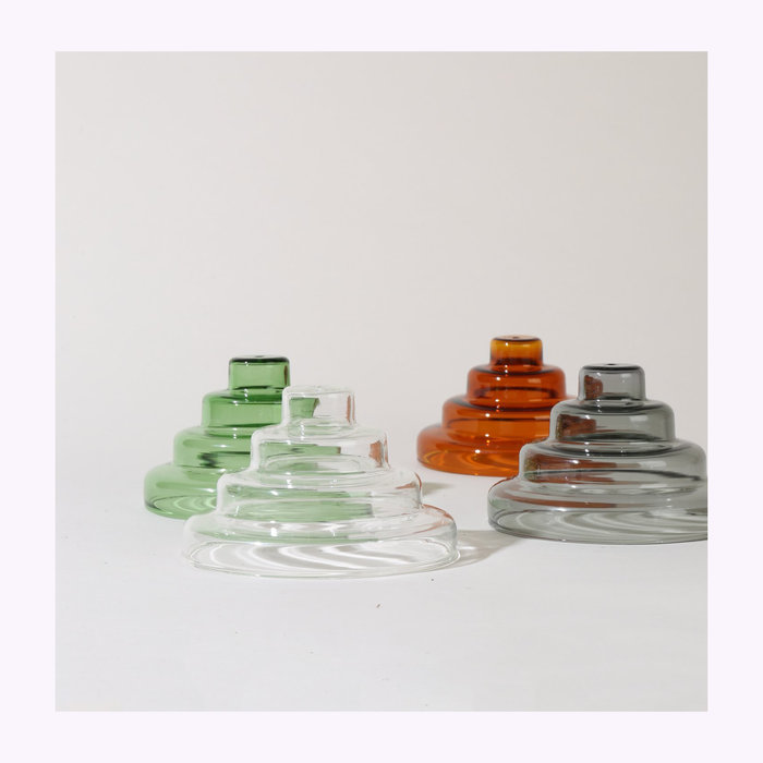 Yield Yield Meso Glass Incense Holder