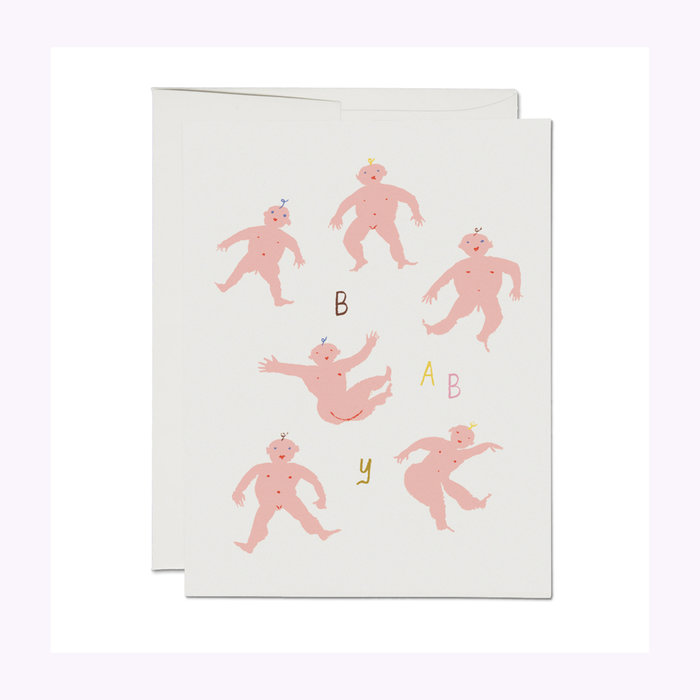 Red Cap Cards Red Cap Cards Little Humans Baby Card