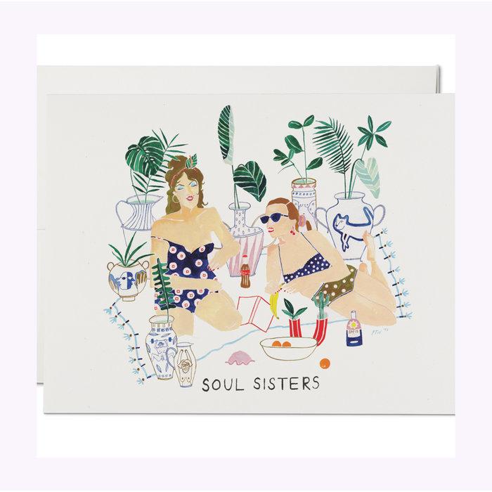 Carte Soul Sisters Red Cap Cards