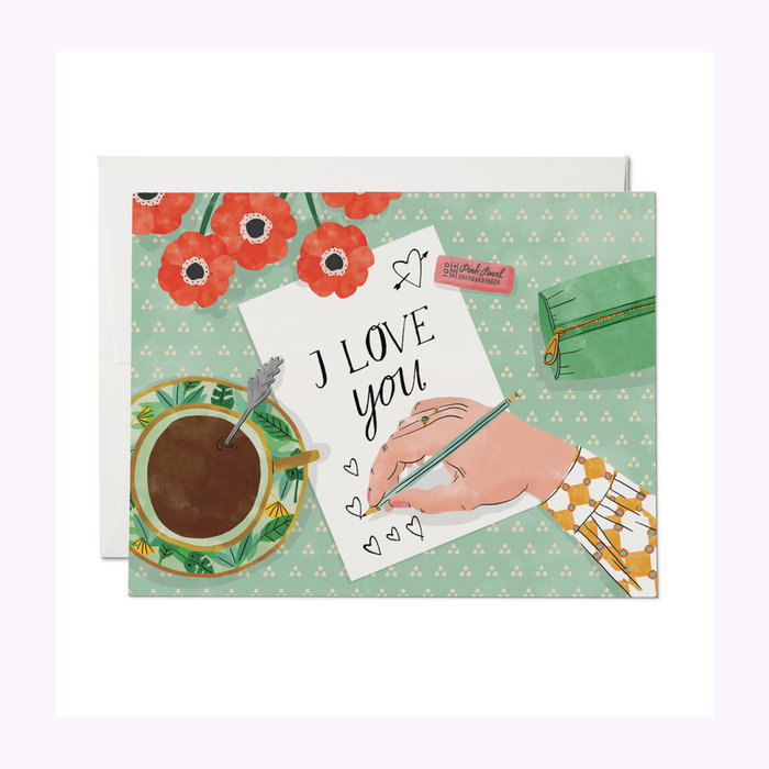Red Cap Cards Red Cap Cards Love Note Card