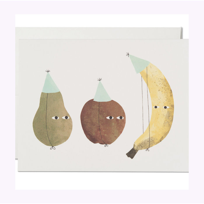 Carte Fruits Party Red Cap Cards