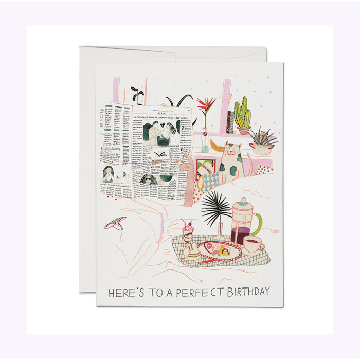 Carte Birthday Perfection Red Cap Cards