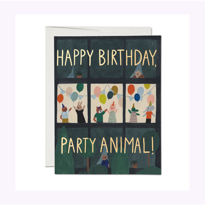 Carte Animal House Red Cap Cards