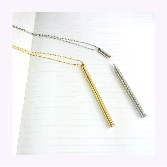 Tsubota Pearl Nickel Neck Pen