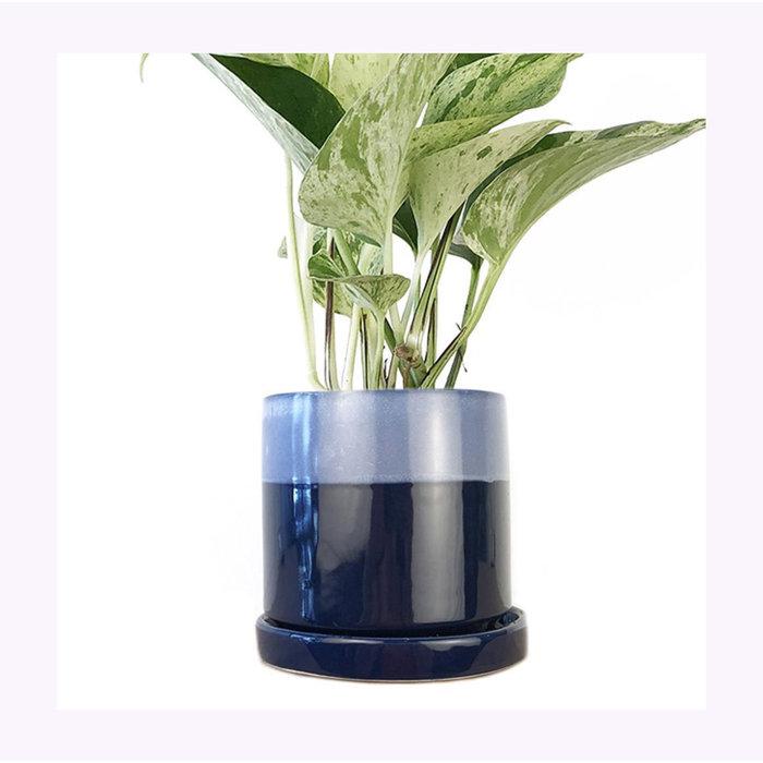 Cache-pot Big Minute bleu Cobalt Chive