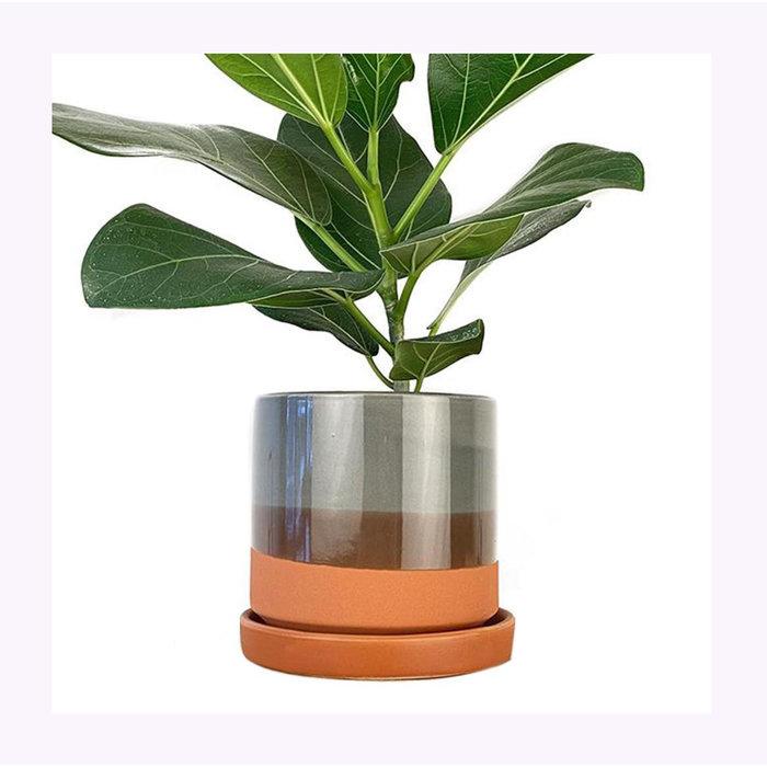 Cache-Pot Big Minute Terracotta Chive