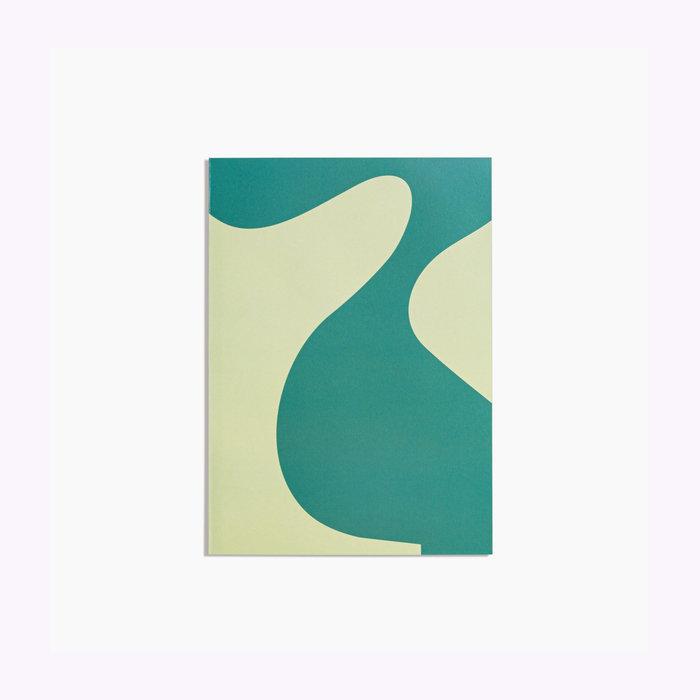 Poketo Poketo Simple Lined Sage Notebook