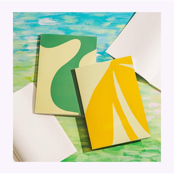 Poketo Simple Lined Sun Notebook