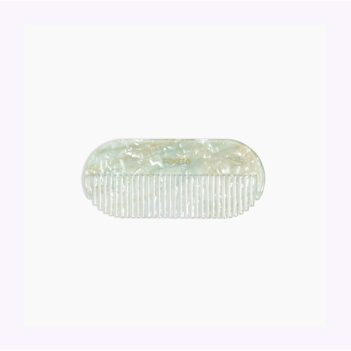 Poketo Small Pill Mint Comb