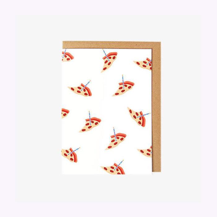 Poketo Poketo Pizza Birthday Card