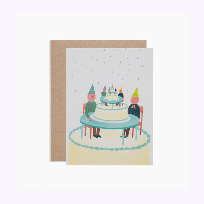 Poketo Poketo Surrealist Birthday Card