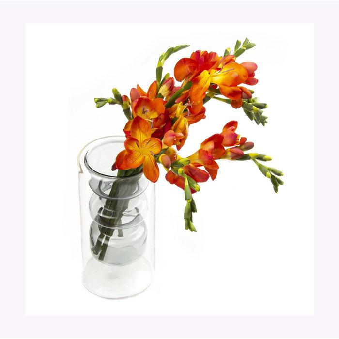 Chive Cylindre Smoke Vase