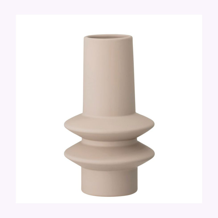 Bloomingville Bloomingville Ivory Column Vase
