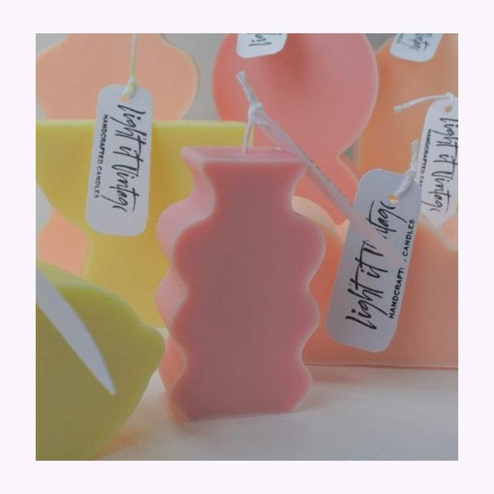 Flammèches Chandelle Mini Vase Flammèches