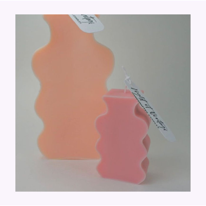 Chandelle Mini Vase Flammèches