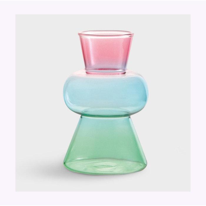 Vase Droplet Rose &Klevering