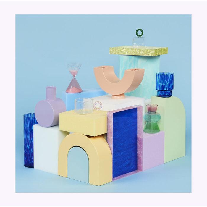 &Klevering Pink Droplet Vase