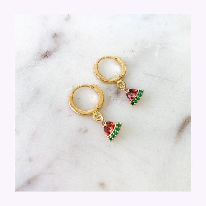 Horace jewelry Boucles d'oreilles Melon Horace